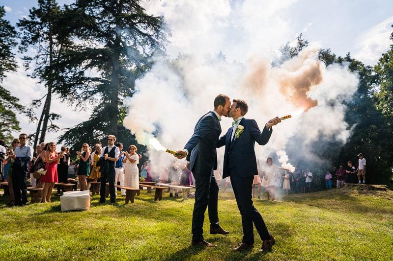 mariage gay château de dangy